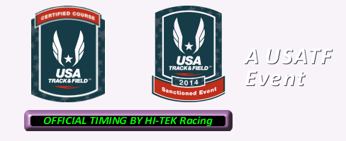Hope Is Coming 5K, A USATF Event
