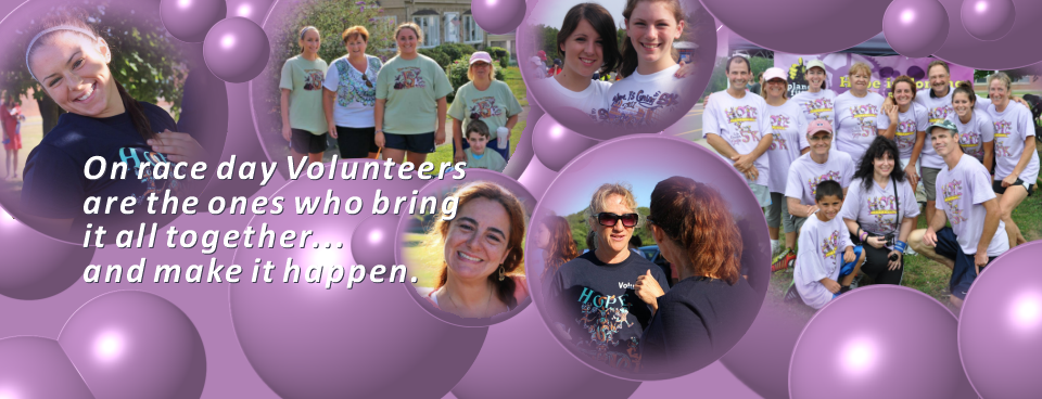 Hope Is Coming 5K Volunteers